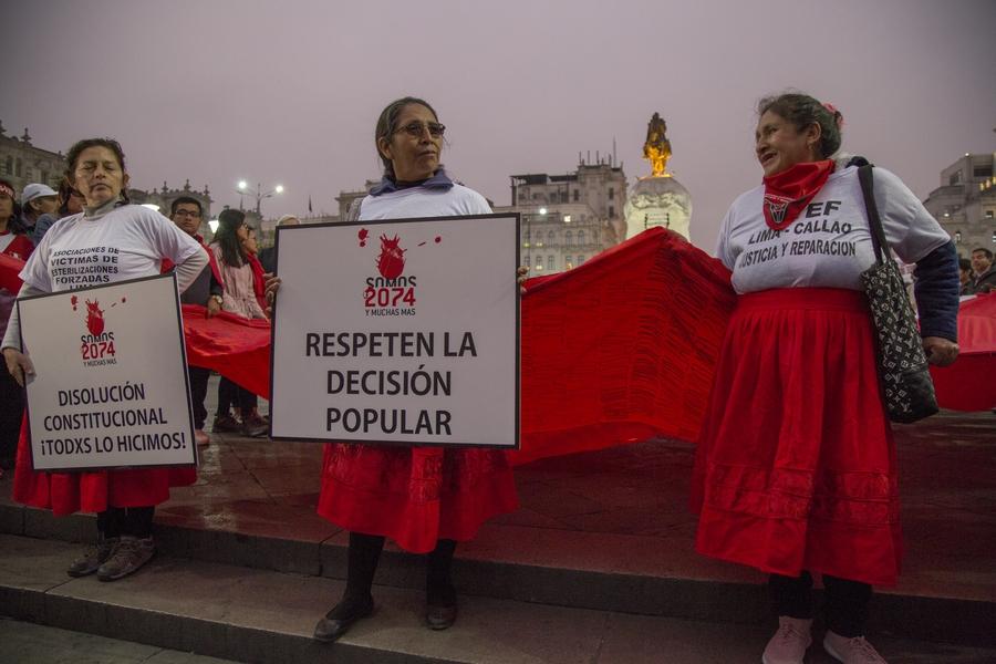 Peru's institutions in turmoil after Congress dissolution