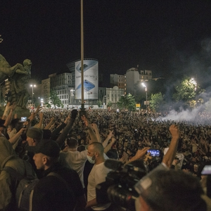 Excessive police force used against citizens, journalists during anti-government COVID-19 protests