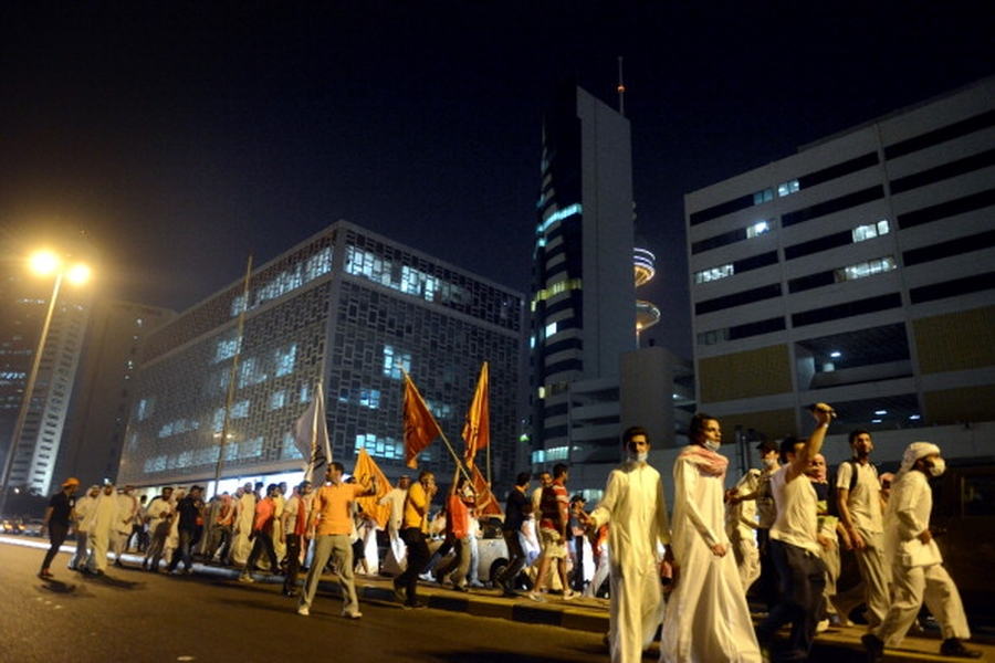 Poetry and protestors under attack in Kuwait
