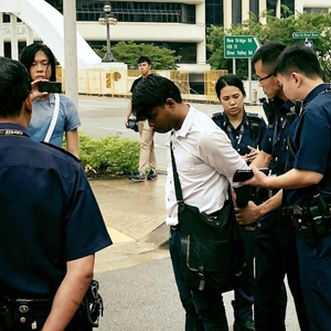 Singapore Public Order Act used to restrict or criminalise expression and peaceful assembly