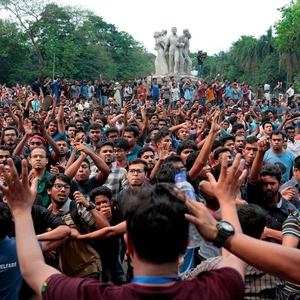 Students protesters attacked as ruling party cracks down on dissent