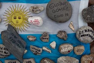 Manifestaciones en memoria de las víctimas de la pandemia y para exigir derechos y cambios políticos