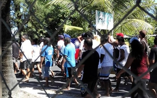 Kiribati opposition organises anti-China protest march