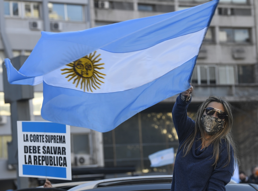 Argentina's former government accused of spying on journalists, civil society leaders and others