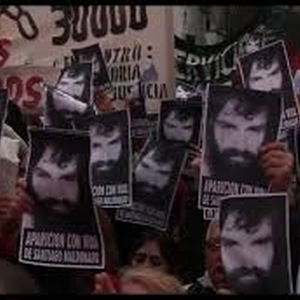 Activist Santiago Maldonado - allegedly a victim of enforced disappearance