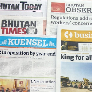 Media independence, access to information and self-censorship of NGOs still an issue in Bhutan