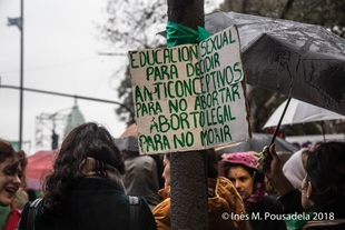 Protests in Argentina after Senate rejected bill to legalise abortion