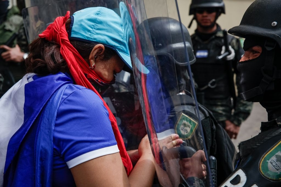 Repression and arbitrary detentions during protests continue in Honduras