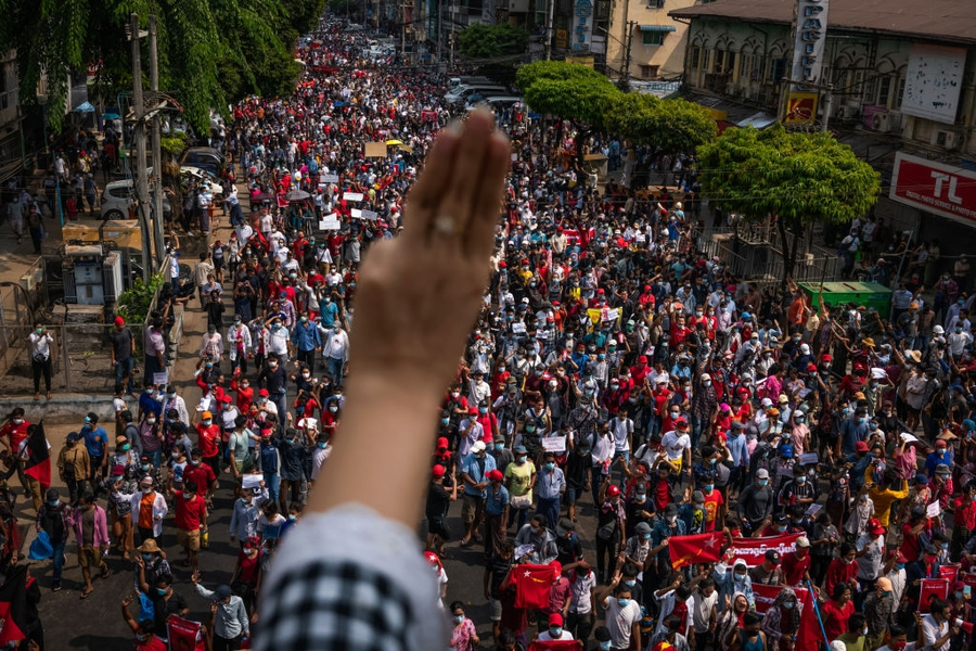 Civil disobedience movement mobilises against Myanmar coup despite net shutdown, arrests