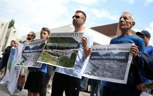 Protests against construction of hydropower plants