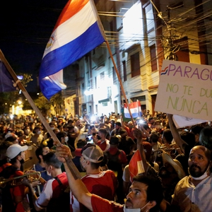 Outrage at government response to the pandemic sparks protests in Paraguay