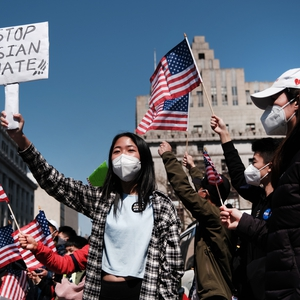 Protests against Anti-Asian attacks in the USA