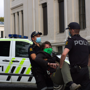 Climate activists detained; clashes at anti-Islam protest