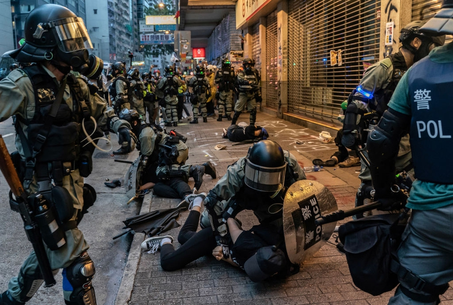Hong Kong protesters face arrests, excessive force and torture while journalists ill-treated