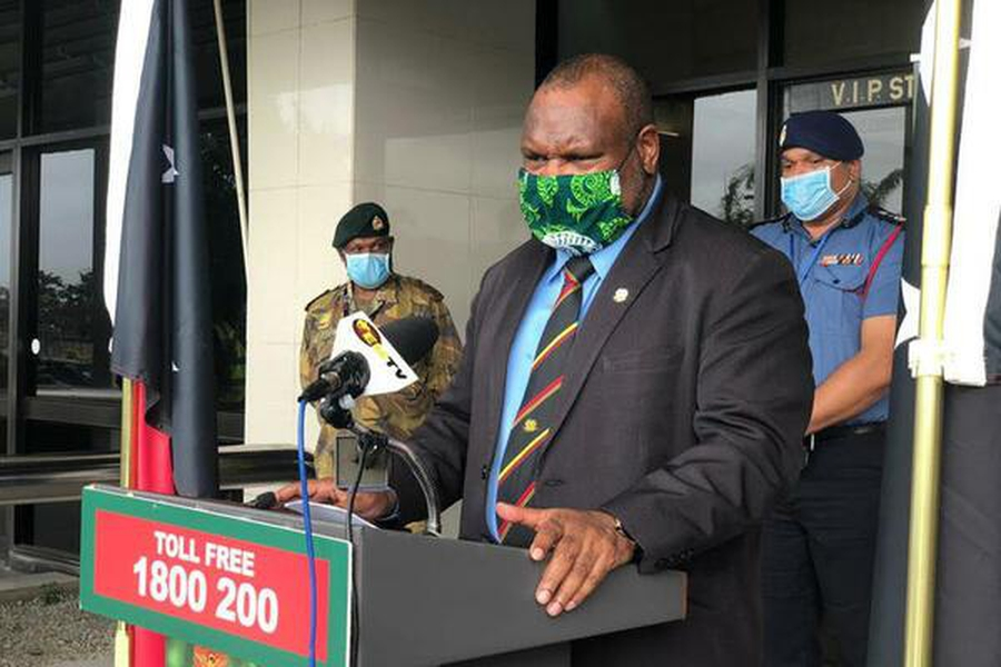 New PNG pandemic law puts rights at risk while groups protest against mine and domestic violence