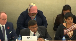 Fiji commits to free speech at UN while boy allegedly tortured for criticising the PM