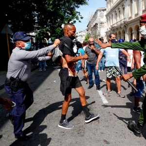 Widespread anti-government protests across Cuba