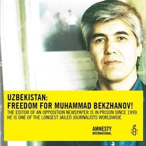 Uzbek journalist Muhammad Bekjanov freed after 18 years in prison