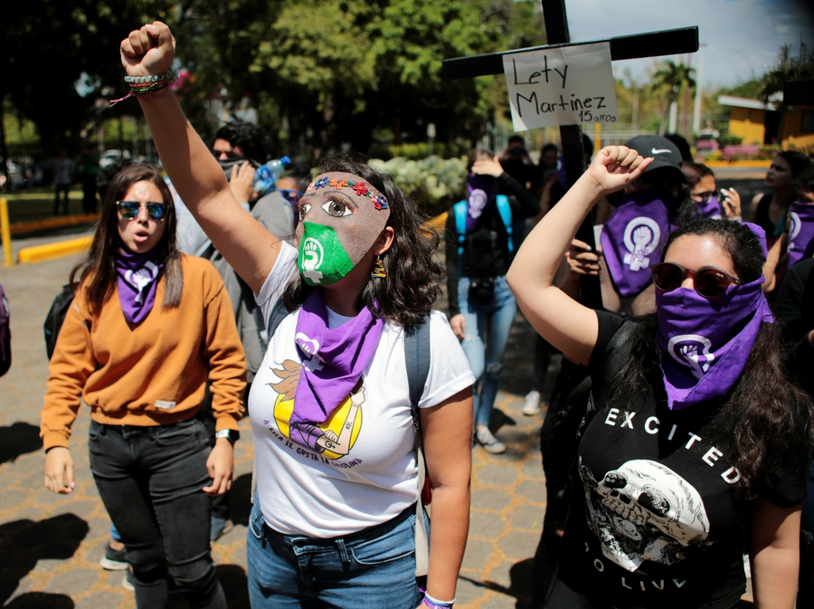 Crackdown on feminist rallies and harassment of former political prisoners in Nicaragua