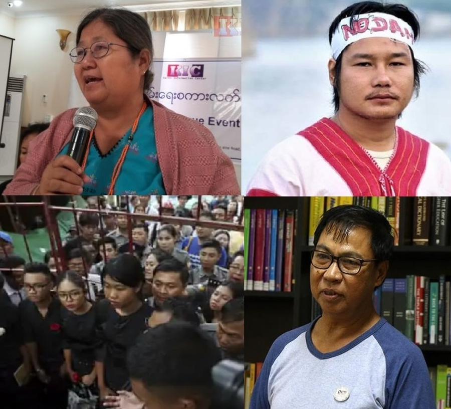 Myanmar authorities prosecuting activists and critics despite the COVID-19 pandemic
