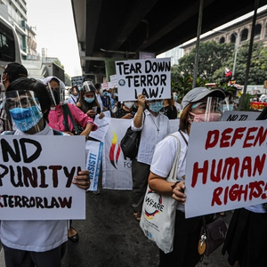 Activists and journalists targeted as draconian anti-terror law challenged in the Philippines