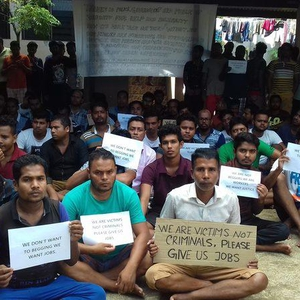 Migrant workers  in Vanuatu protest repatriation plans fearing for their lives