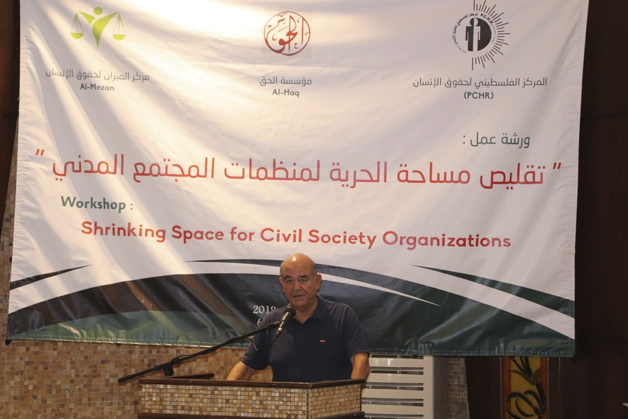The clampdown on Palestine civic space continues  as Israel steps up smear campaign against CSOs