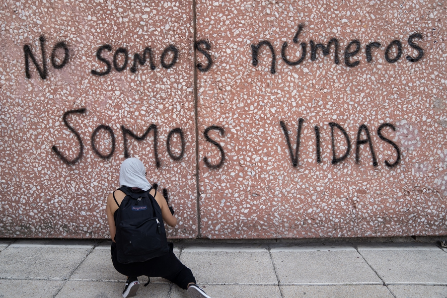 Anger and protests over rising gender-based violence in Mexico