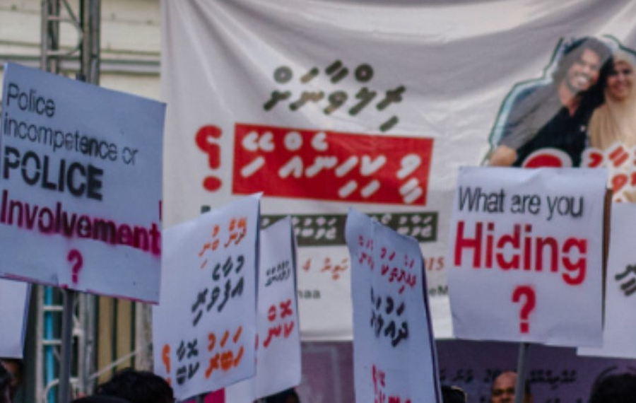 Civil society calls for accountability for killing of Maldives journalist and its cover-up