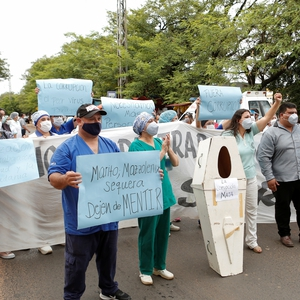 Paraguay: workers from various sectors take to the streets in Asunción