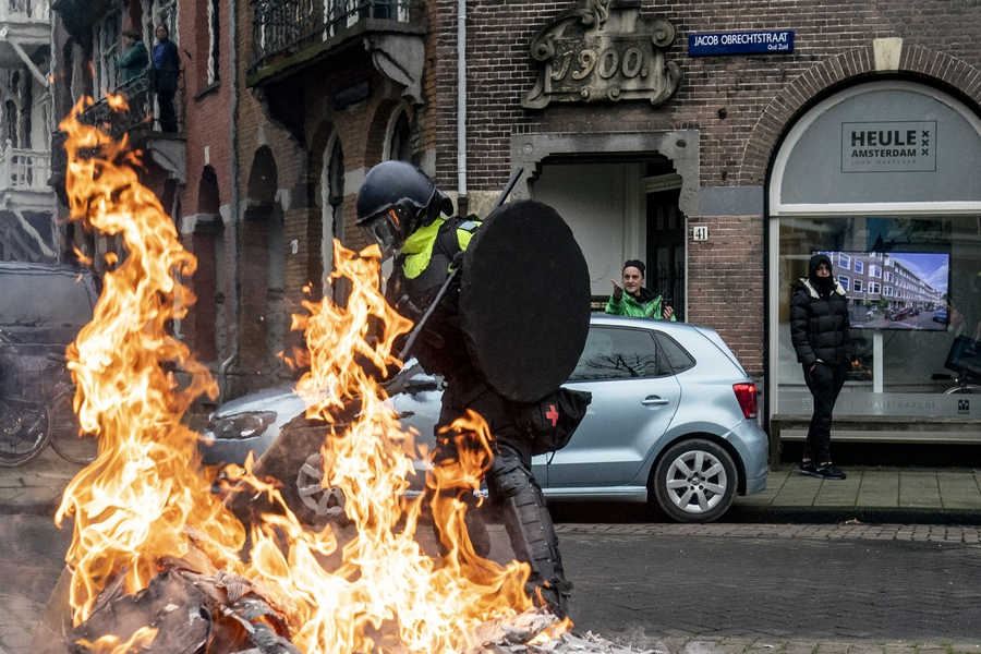 Journalists come under attack during violent protests over COVID-19 curfew