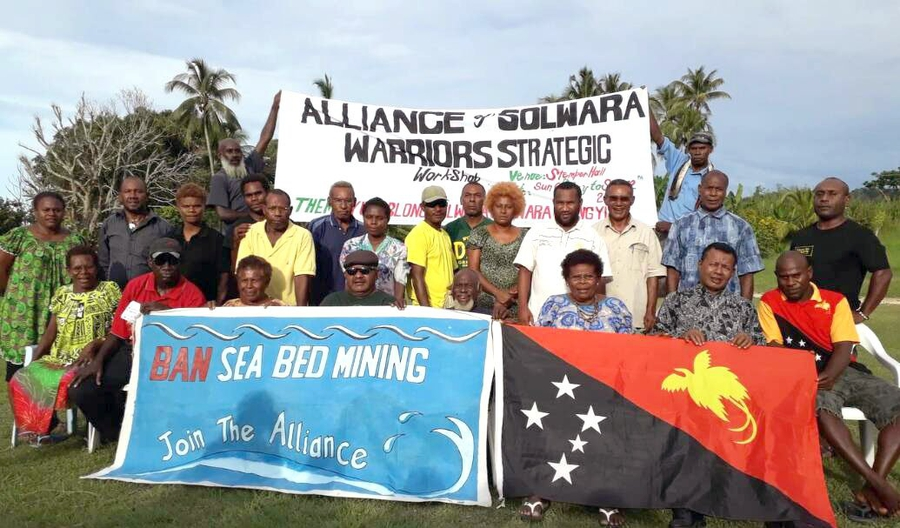 Activist group continues resistance against seabed mining in PNG