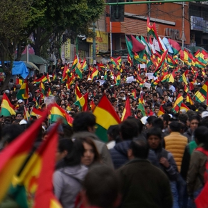 Contested elections in Bolivia stir mass protests with violent clashes