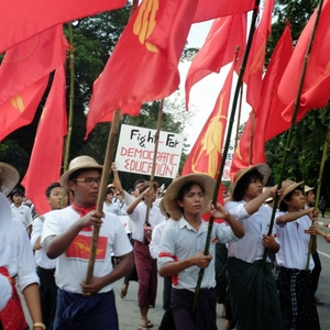 Central Yangon bans protests while critics are criminalised
