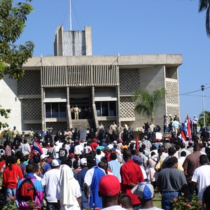 Workers protest over unpaid wages