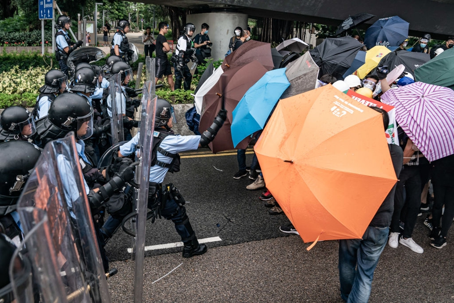 Hong Kong protests met with excessive force as activists suppressed around Tiananmen anniversary