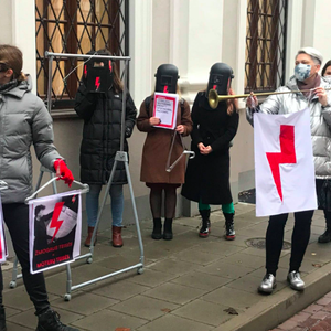 Protests staged in support of Polish Women and against COVID-19 measures