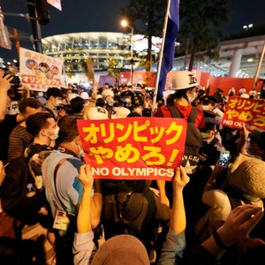 Protests around Olympics opening while civil society slams failure to pass anti-discrimination bill