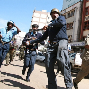 Police brutality a continuing crisis in Kenya