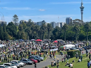 Multiple anti-lockdown protests organised in NZ; government consults on hate speech laws