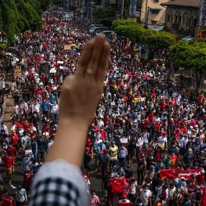 Civil disobedience movement mobilises against Myanmar coup despite net shutdown, arrests