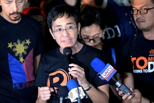 Indictments against news site Rappler an attempt to intimidate and control the pubic narrative