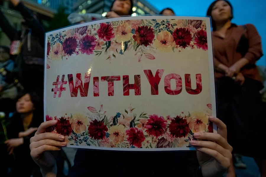 Protests nationwide in Japan calling for reforms to anti-rape law