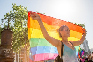 Skopje's first LGBT pride takes place as civic freedoms improve