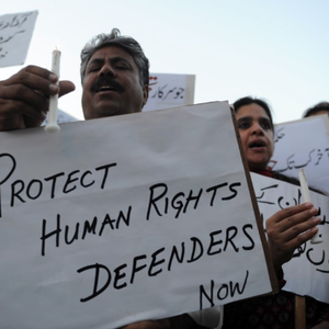 Targeting of human rights defenders and enforced disappearances in Pakistan continue