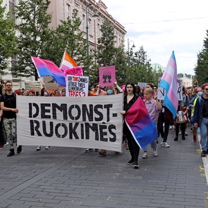 Protest over LGBTI rights; government praised for milestone NGO funding support