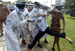 Despite UN concerns Sri Lanka continues to detain critics, arrest protesters and entrench impunity