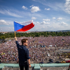 Politicians continue to undermine critical media in the  Czech Republic. Mass protests persist