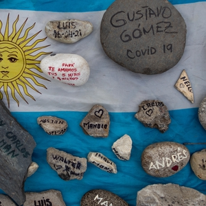 Argentina: protests in memory of pandemic victims, demanding rights and policy changes