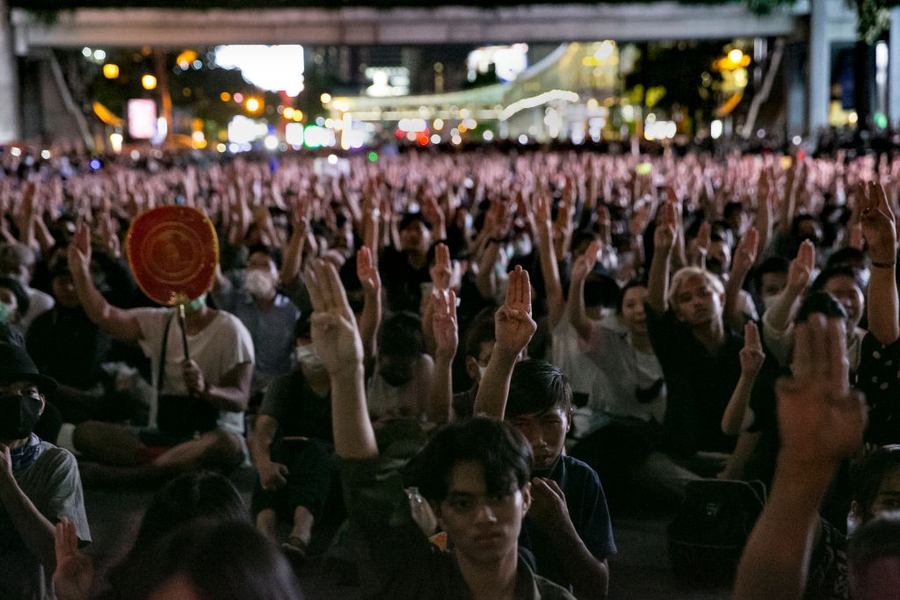 Authorities escalate crackdown on the youth-led protest movement in Thailand